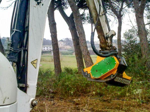 Мульчер на экскаватор Serrat CABEZAL F3 T-1200