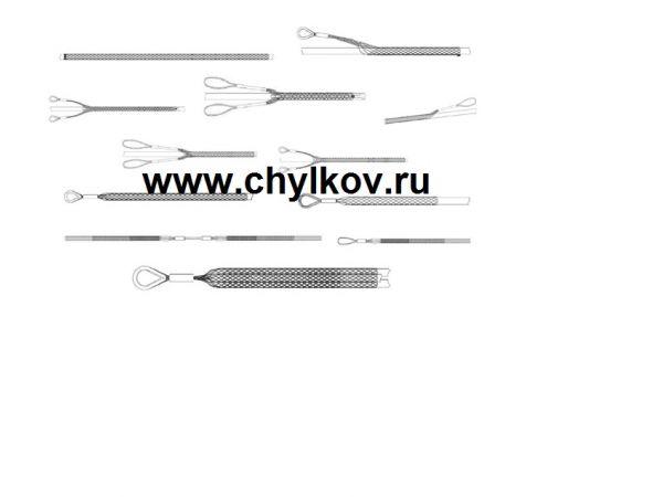 Кабельный чулок разъемный КЧР 150/1