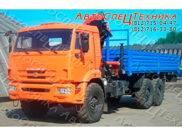 КамАЗ-43118 (бортовой) с манипулятором Palfinger PK 23500 A