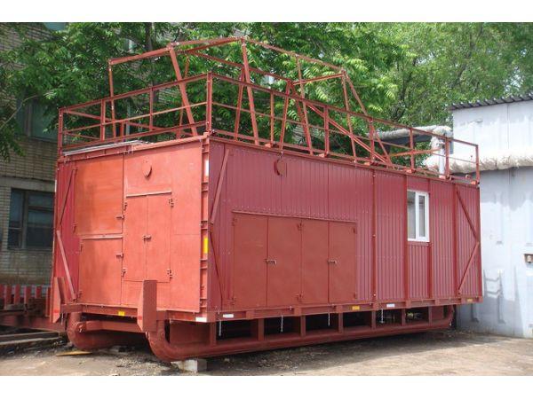Универсальное разборное здание ДТХЗ для буровых установок (на санях)