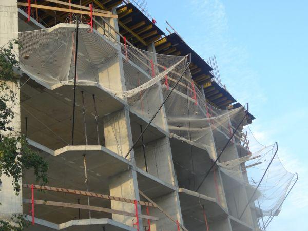 Фасадная сетка 35гр/м2 (2х50), Заградительная сетка