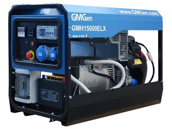 Портативные бензогенераторы GMGen Power Systems (Италия) воздушного ох