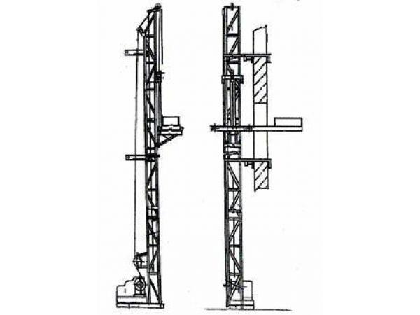 Подъёмник мачтовый строительный ПМС-500, ПМС-1000, ПМС-750