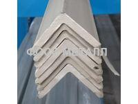 Уголок  нержавеющий горячекатаный равнополочный шлифованный AISI 304