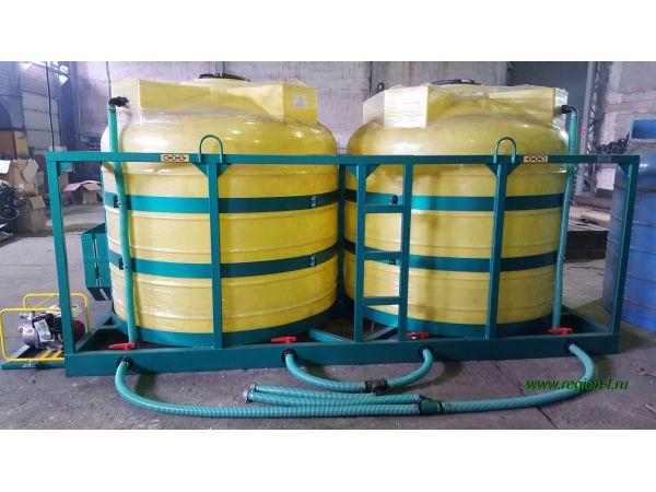 Мешалка «Кассета» для сыпучих удобрений и с/х химии в жидкой среде