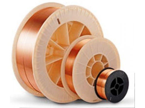 сварочная проволока омедненная СВ 08 Г2С ф 0,8 мм (5кг) D200