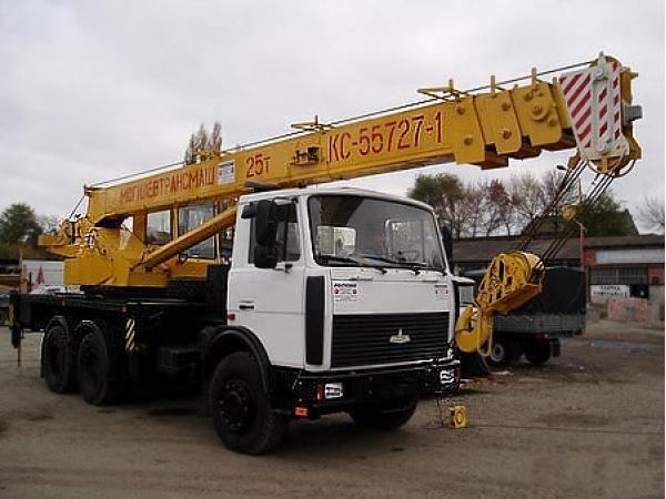 Аренда Автокрана Машека 25 тонн