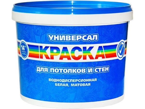 краска Радуга Универсал new 40 кг для потолков вд