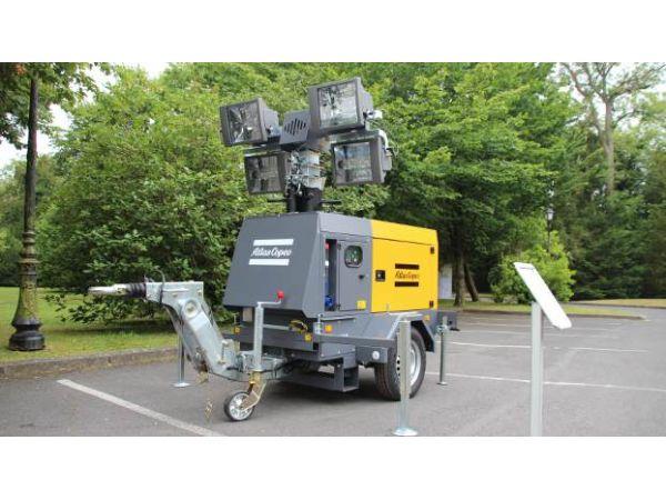 Мачта телескопическая Atlas Copco QLT H50