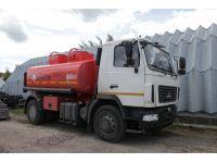 Топливозаправщик АТЗ-11 на шасси МАЗ 5340В2 (новый бензовоз)