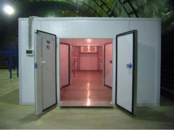 Холодильные камеры сборные для продуктов