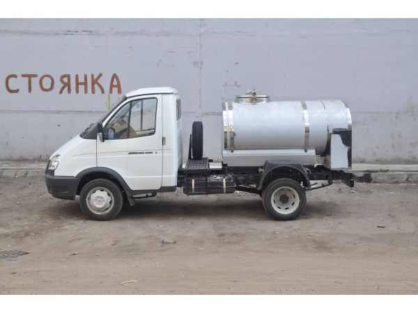 Молоковоз ГАЗ 3302 1,2 м3 (новый водовоз)