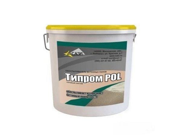 Типром POL - обеспыливает и упрочняет бетонные полы