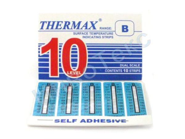 минусовые термоиндикаторные этикетки Thermax