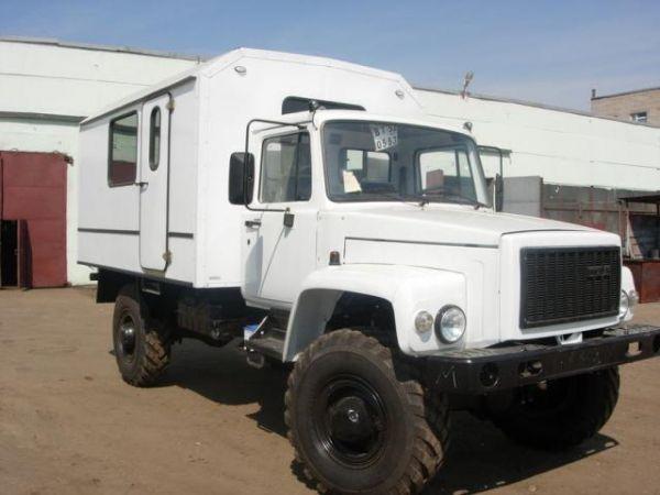 Передвижная мастерская ПАРМ ГАЗ 33081 (новая)
