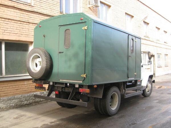 Передвижная мастерская ПАРМ ГАЗ 3309 (новая)
