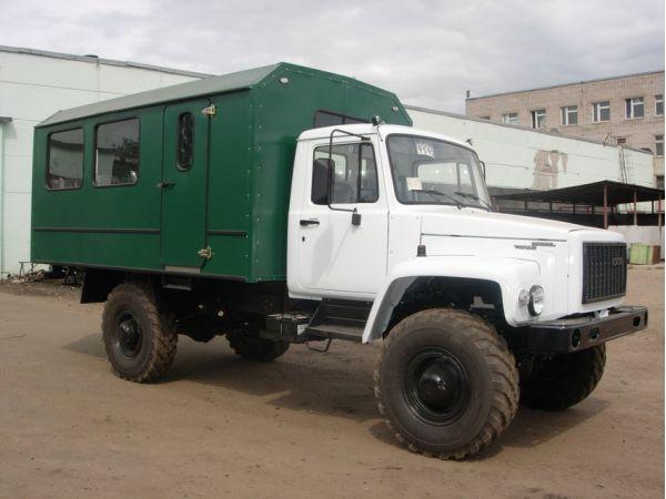 Вахтовый автобус ГАЗ 33081 15 мест (новый)