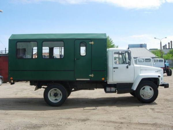 Вахтовый автобус ГАЗ 3309 15 мест (новый)