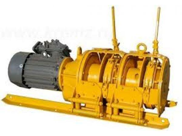 Лебедка шахтная вспомогательная ЛВ25