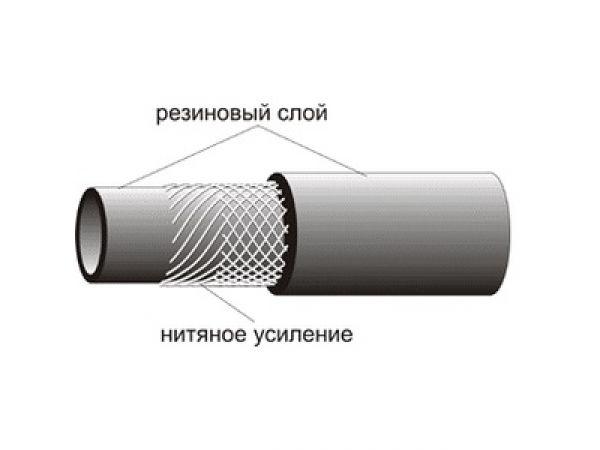 Рукава резиновые напорные с нитяным каркасом длинномерные