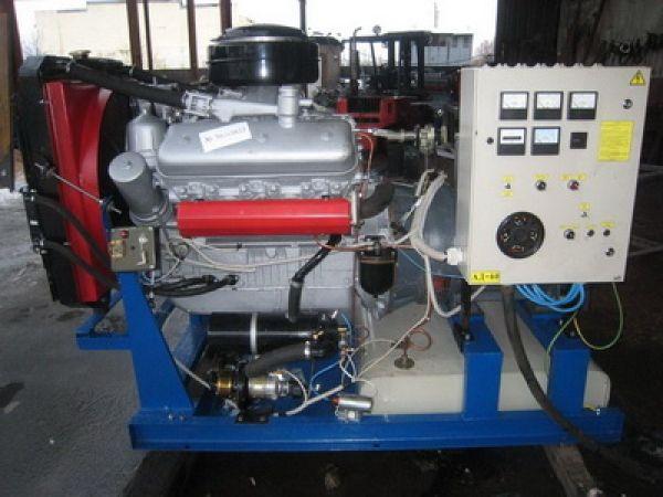 Дизельные электроагрегаты АД60С-Т400-Р   АД60-Т400   ЯМЗ