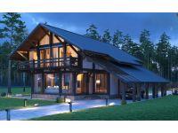 Строительство домов, бань в стиле фахверк
