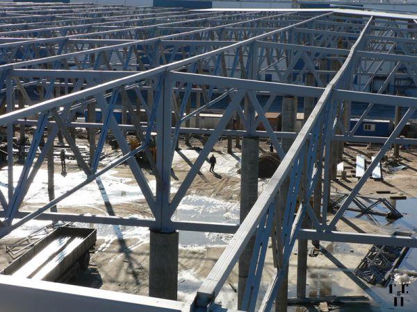 Производство и монтаж металлконструкций