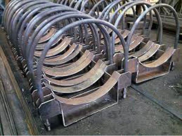 Опора А14Б 540.000 подвижная - опоры трубопроводов серия 5.900-7