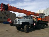 Автокран 25 тонн КС-55713-3К-4 Клинцы (новый)