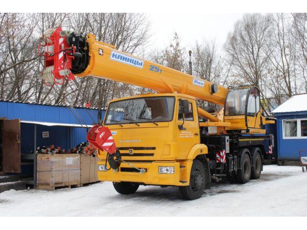 Автокран 25 тонн КС-55713-1К-4 Клинцы (новый)
