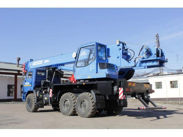Автокран Клинцы 25 тонн КС-55713-5К-3 (новый)