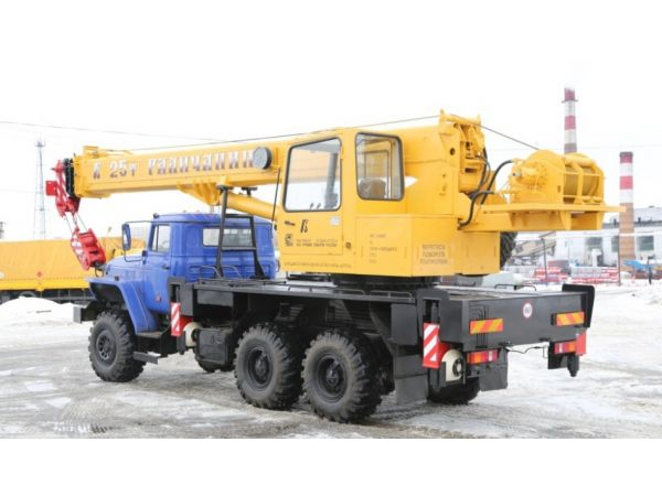 Автокран Галичанин 25 тонн КС-55713-3В (новый)