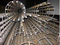 Сваенавивочный станок для сварки цилиндрических каркасов бнс свай