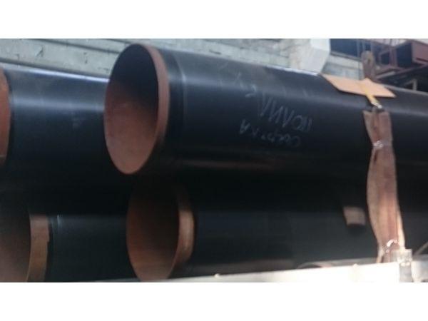 Трубы стальные с ленточным антикоррозионным защитным ПОЛИЛЕН покрытием