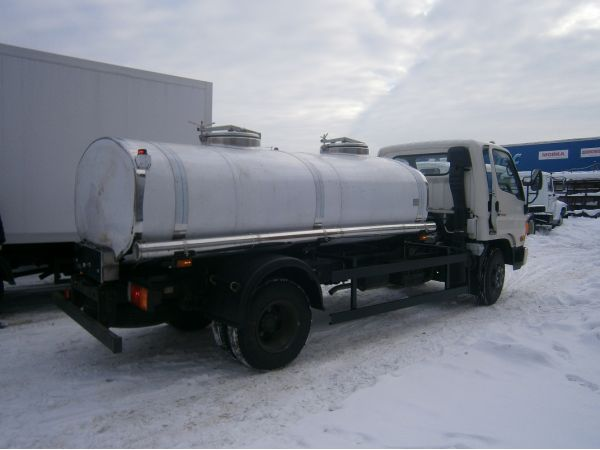 Молоковоз Hyundai HD 78 (новый)