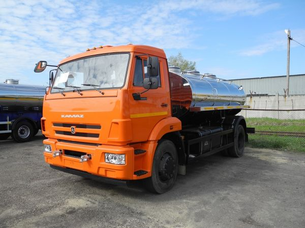 Молоковоз КАМАЗ 43253 7,5 м3 (новый водовоз)