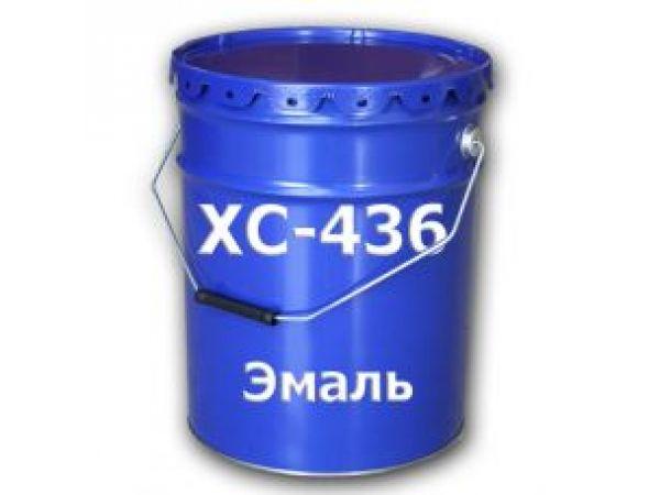 Эмаль ХС-436 судоремонтная