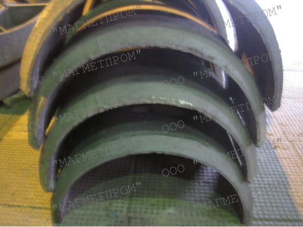 Утяжелители (пригрузы) чугунные кольцевые УЧК для балластировки