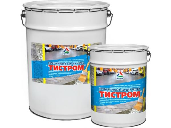 Полиуретановый лак повышенной прочности для бетона «Тистром»
