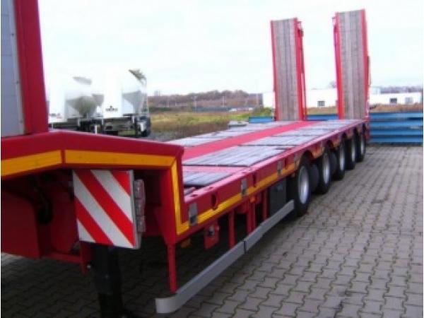 Перевозка негабаритных грузов низкорамниками