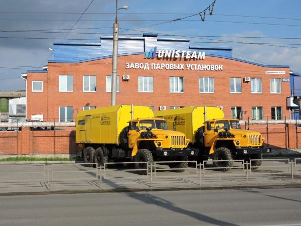 передвижная парогенераторная установка серии UNISTEAM-M (ППУ)