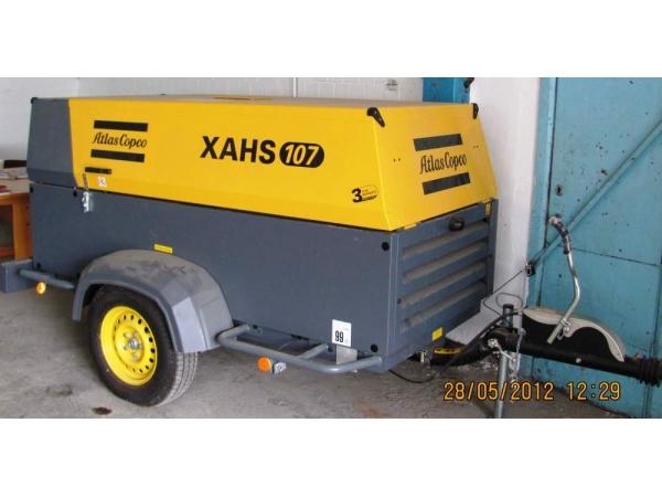 передвижной компрессор Atlas Copco XAHS 107