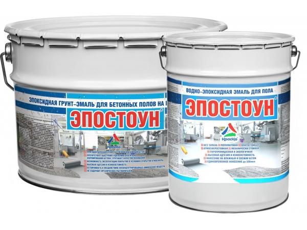 Атмосферостойкая краска по бетону «Эпостоун»