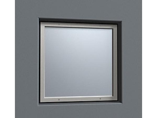 Окно рентгенозащитное ОР-2,5 стекло 500 х 300 х 12 мм экв. Pb =2,5 мм