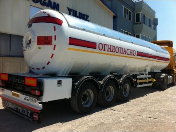 Газовая цистерна DOGAN YILDIZ 38 м3