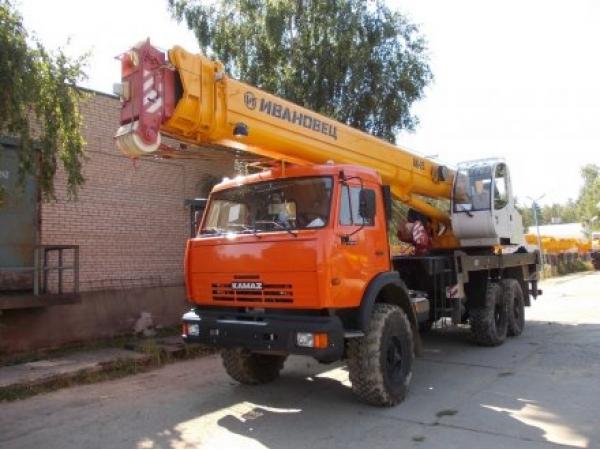 Аренда автокрана от 25 тн до 70 тонн. Недорого.