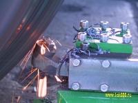 Портативные колесотокарные станки 1АК200 - обточка КП без выкатки