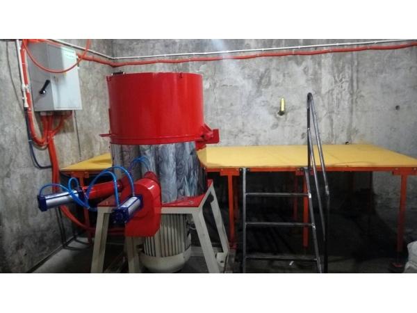Агломератор (ПОЛУАВТОМАТ)  55 кВт, производительность 150-230 кг/ч.