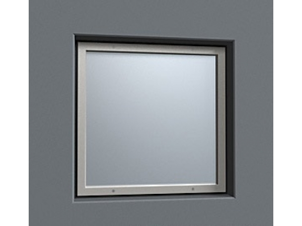 Окно рентгенозащитное ОР-2,5 стекло 300 х 300 х 12 мм экв. Pb = 2,5 мм