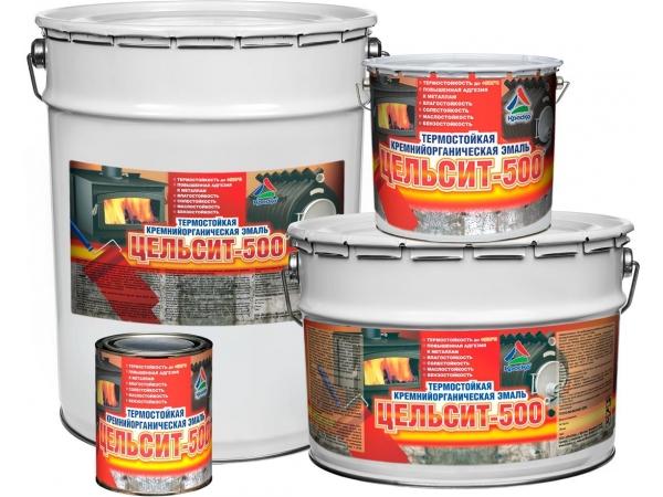 Цельсит-500 - термостойкая силиконовая краска